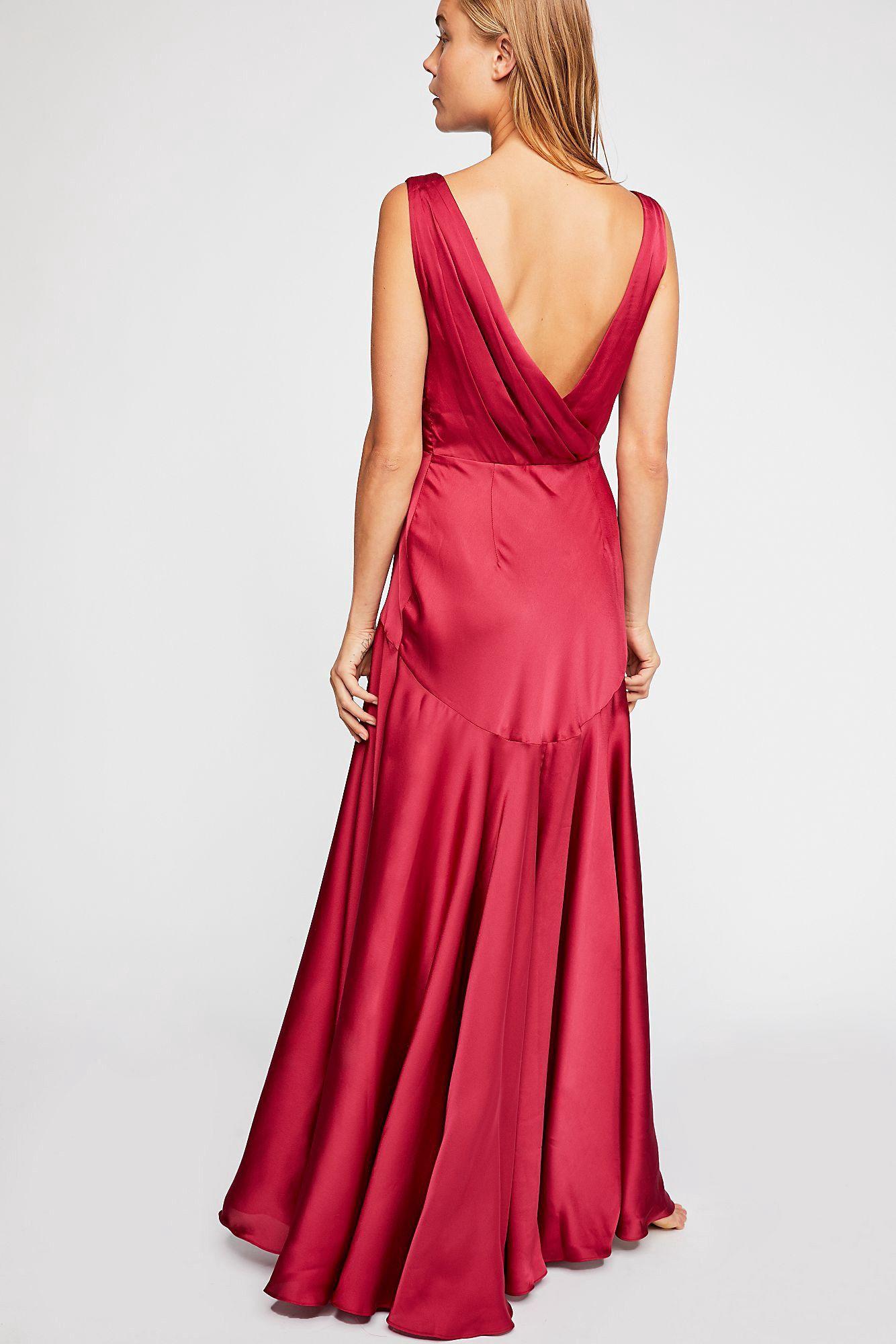 f1ad1e4008 Free People Essie Maxi Dress - Burgundy 6