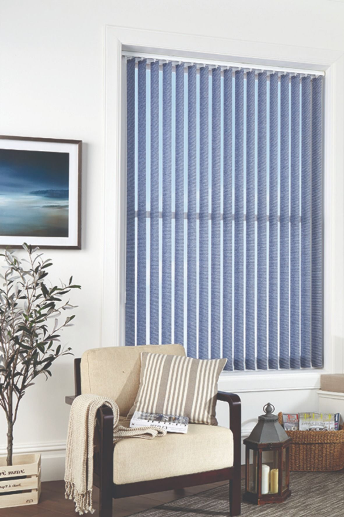 Vertical Blinds Are An Affordable And Stylish Option To Achieve Both Look And Functionality In Your Home They Offer Privacy In 2020 Vertical Blinds Blinds Home Decor
