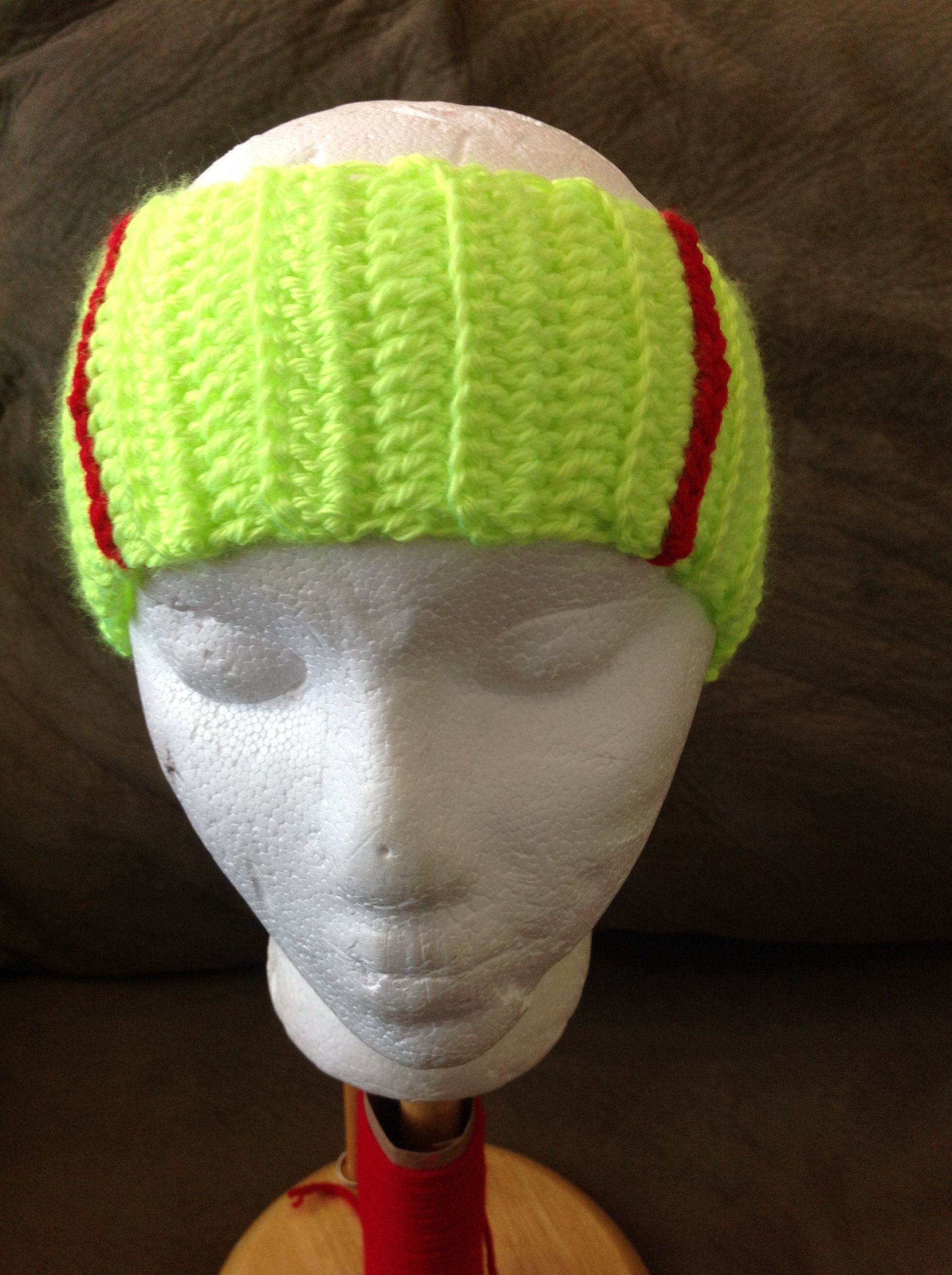 Softball headband/ear warmer | Softball | Pinterest