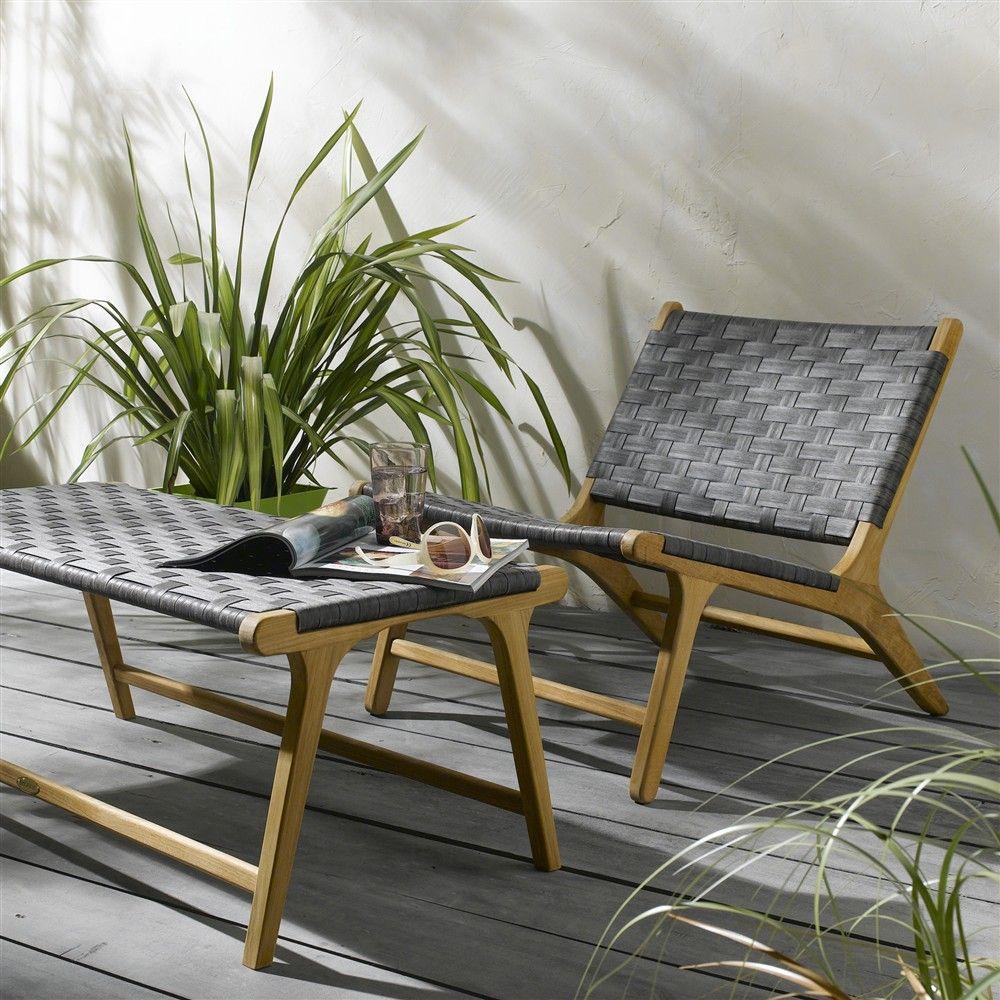 229 Truffaut Fauteuil Bas Savane En Teck Furniture Decor Chair