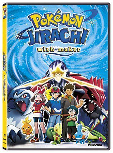 Pokemon Jirachi Wish Maker Dvd Region 1 Ntsc Us Import