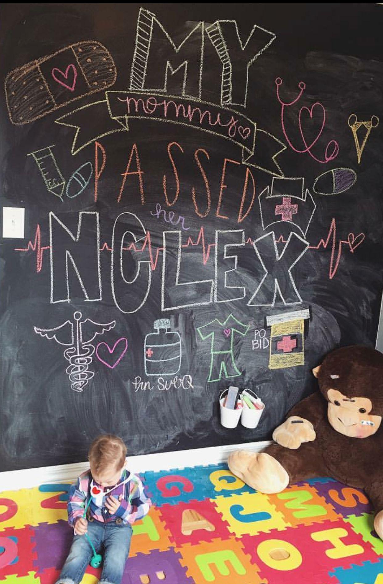 Passed my nclex nclex nurse nursingstudent rn lpn