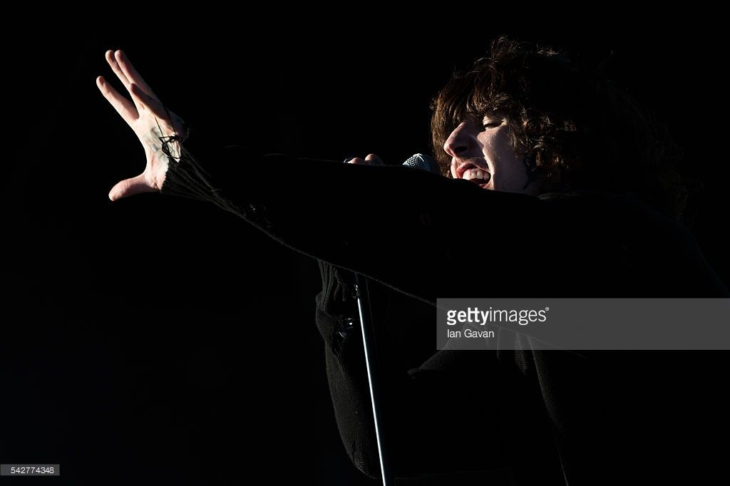 Oliver Sykes - Bring Me The Horizon by Ian Gavan