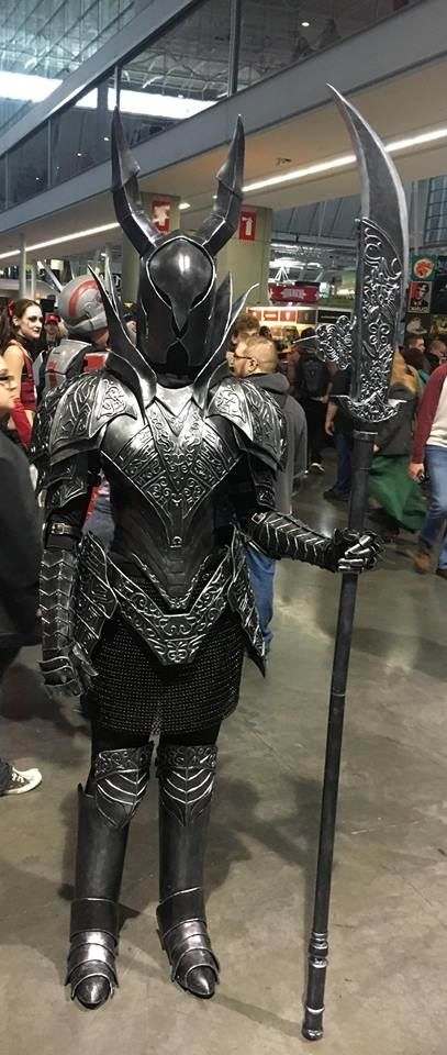 silver knight cosplay dark souls news of video game