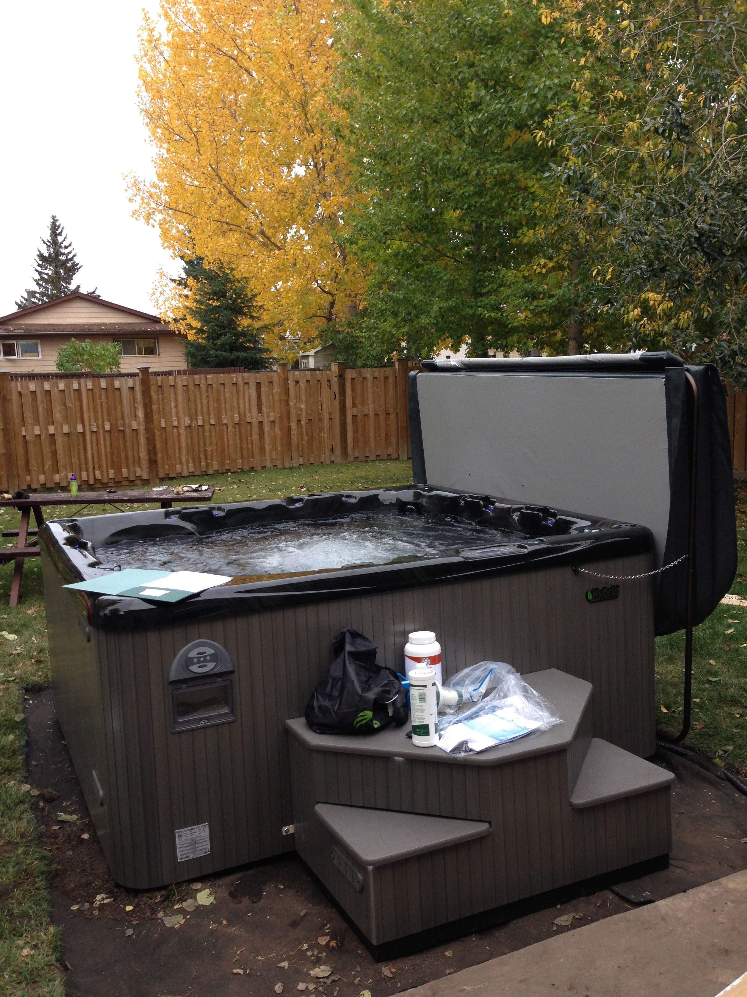 Beachcomber Hot Tub Model 720 Install Ideas In Wiring A Garden Bath Yard