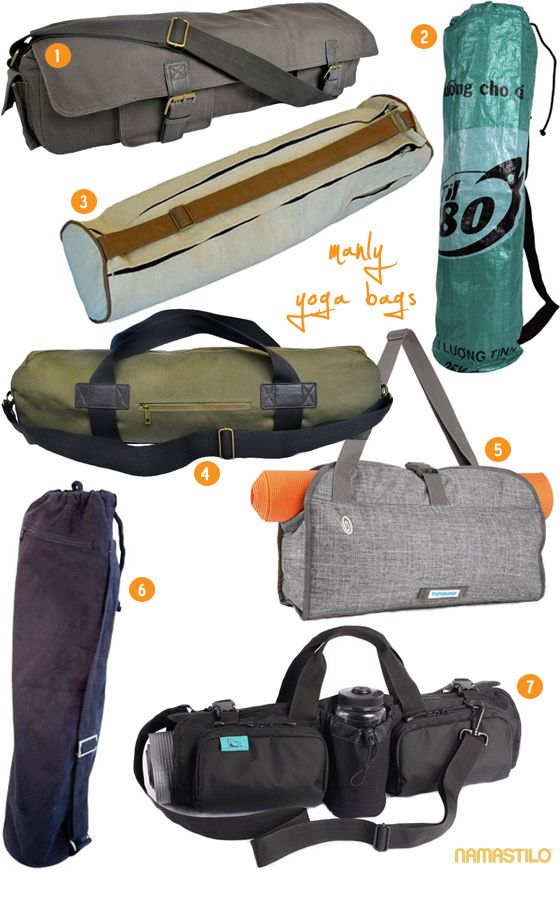 Manly Yoga Mat Bags (collection)