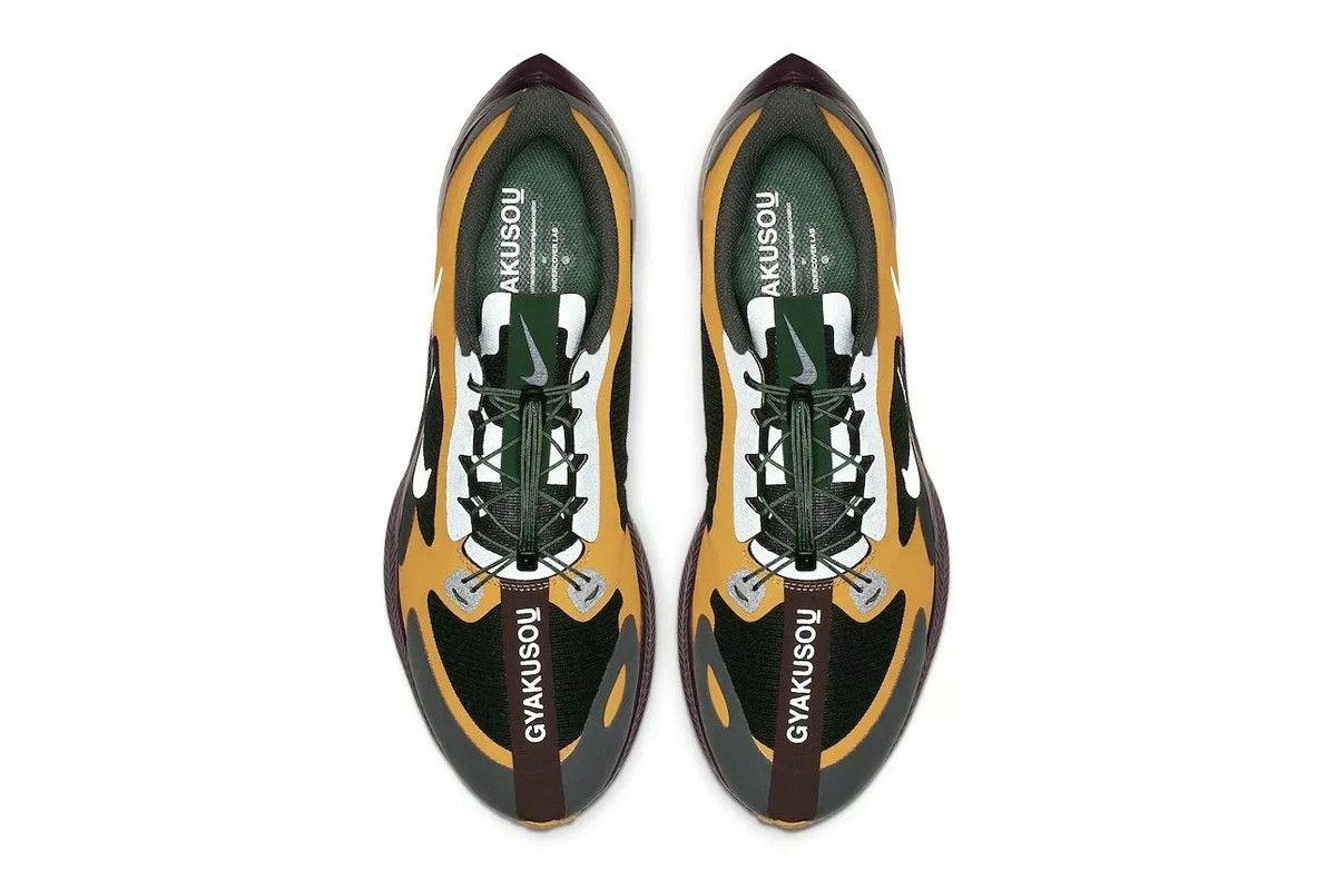 598994534a44c Undercover Gyakusou Nike Zoom Pegasus Turbo Preview Collaboration Kicks  Shoes 2019 Spring Summer Jun Takahashi green yellow