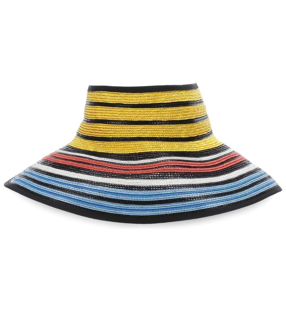 Striped Straw Sunhat Missoni Ag1rj