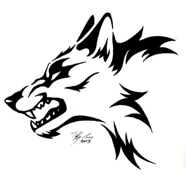 Photo of Wolf Tattoo Designs – The Body is a Canvas