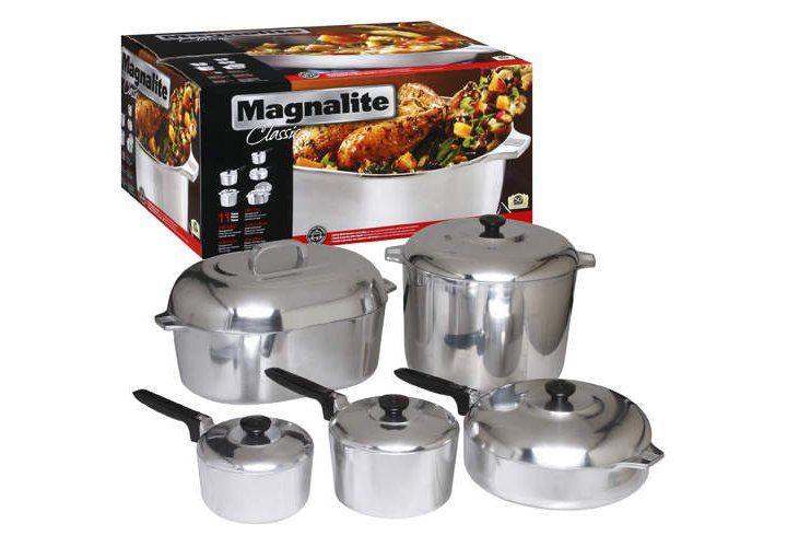 Magnalite Classic 11 Pc Cast Aluminum Cookware Set Sam S Club Cookware Set Classic Cookware Cookware Set Nonstick