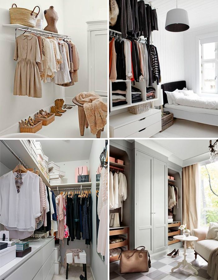 armarios abiertos