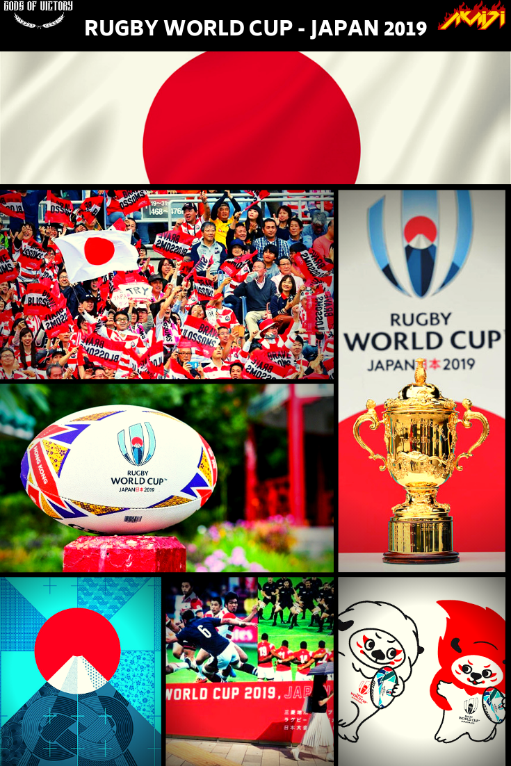 The 2019 Rugby World Cup starts today in Japan! Prepare