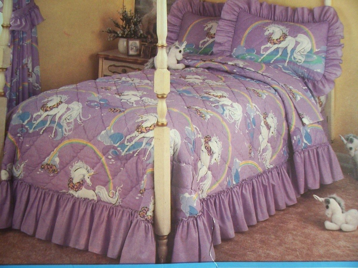 Unicorn Bedding Little Girl Dream Room Pinterest