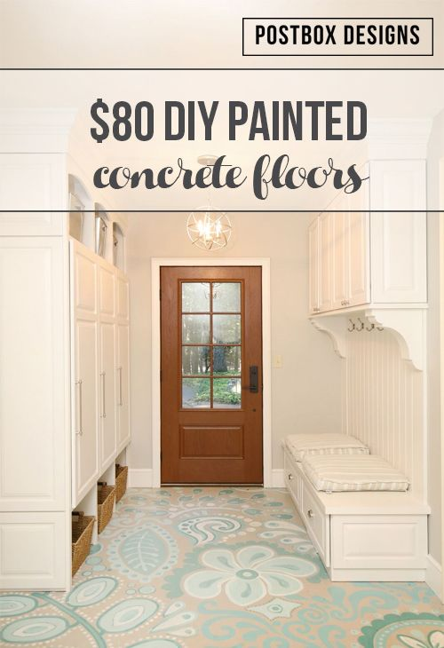 This is the story of my $80 DIY painted concrete floors. In case you missed my previous blog where I went through the whole process of how we remodeled our mudroom, check it outHERE! But I have been asked a lot about the process of actually painting my floors, how it happened, and how YOU [ Read More... ] …