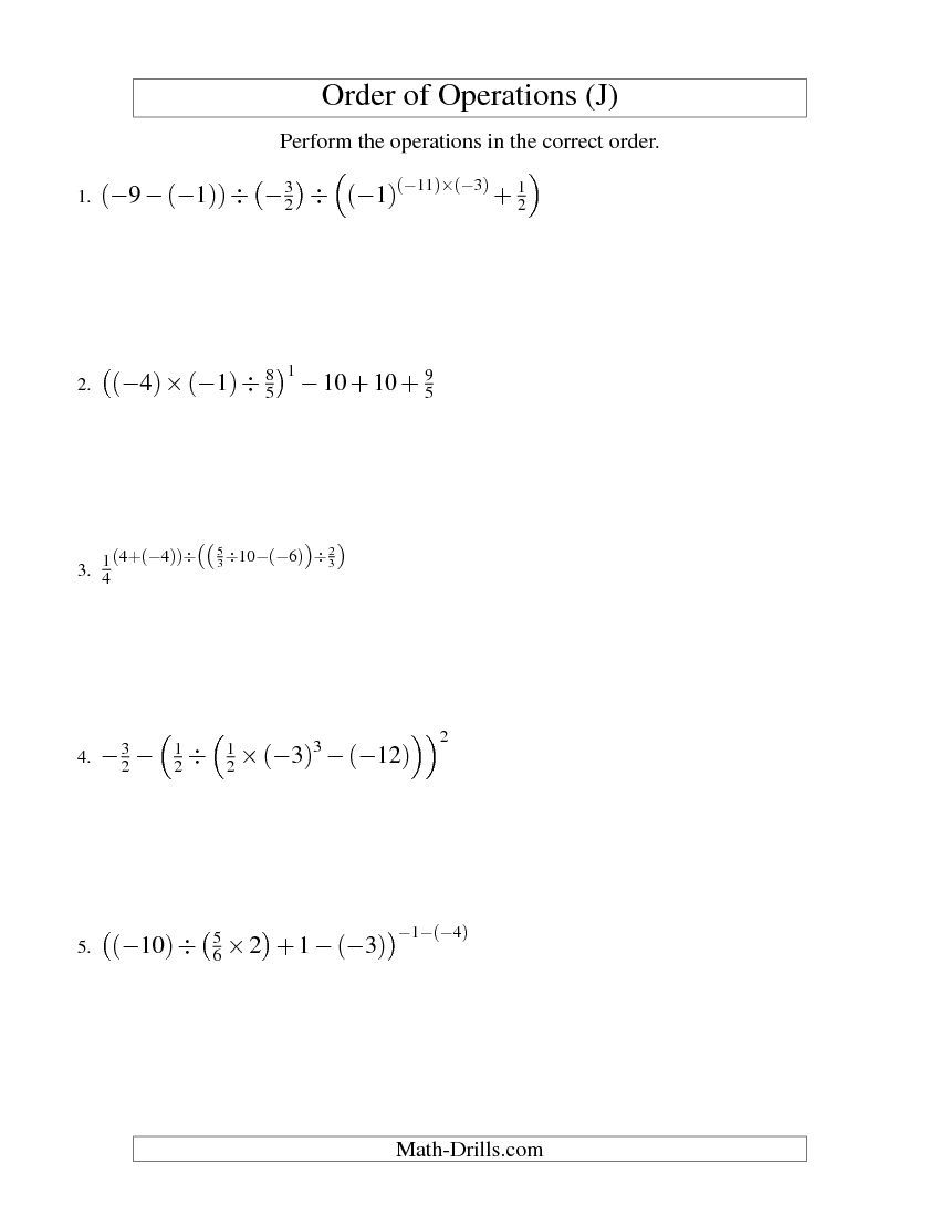 worksheet Order Of Operations Practice Worksheet free worksheets library download and print on order of operations practice grass fedjp