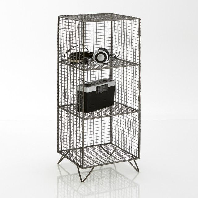 Aréglo Metal Wire Shelving Unit | Wire storage, Hall and Shelves