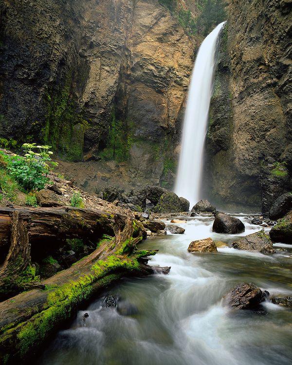 Yellowstone Rivers and Waterfalls