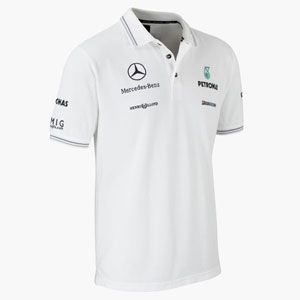 official mercedes benz gp team polo looks polo. Black Bedroom Furniture Sets. Home Design Ideas