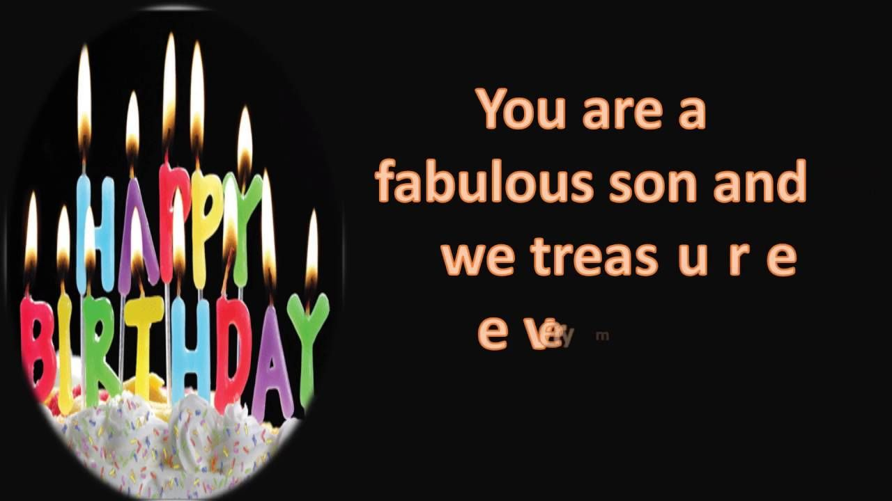 Check Compilation Of 123 Birthday Greetings For Son Happy Birthday Fun Birthday Cards For Son Happy Birthday Son