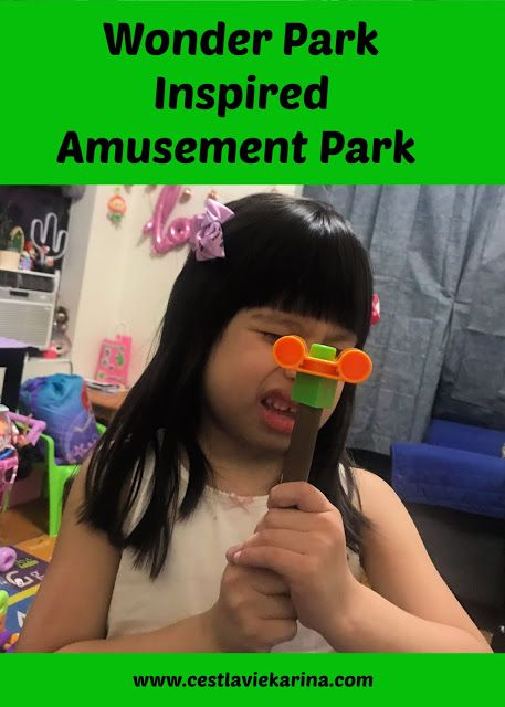 Wonder Park Inspired Amusement Park  #WonderPark