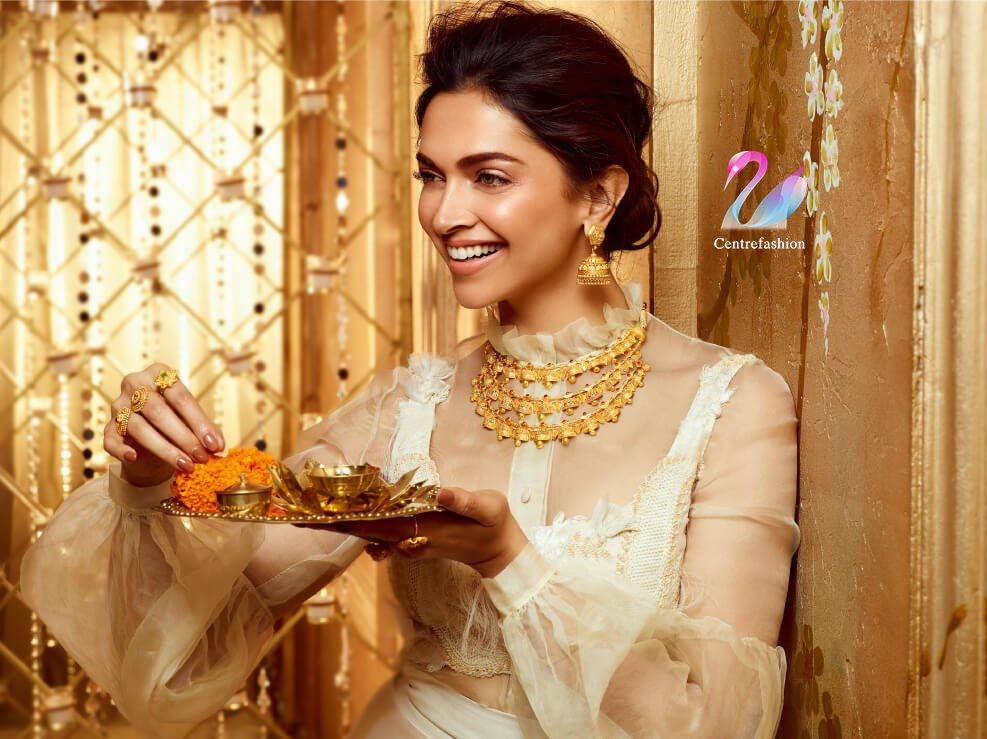 Deepika Padukone Latest Wedding Jewellery Deepika Padukone Tanishq Jewellery Gold Jewelry