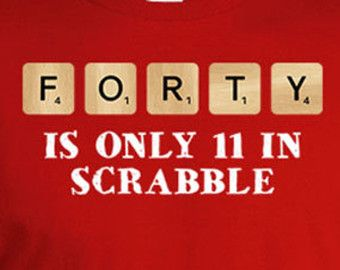 40th Birthday Shirt Gifts For Men Presents Her 40 Years Old Bday Gift Forty Is Only 11 TShirt Mens Ladies Tee DAT 175