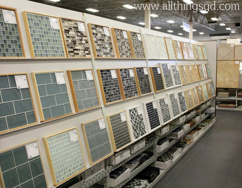 Glass tile displays at The Tile Shop #tileshop | All Things G&D ...