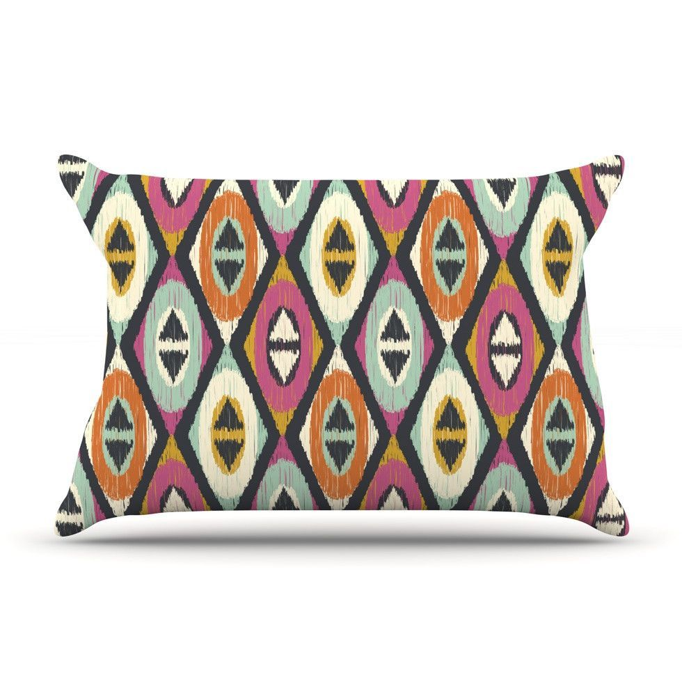 Sequoyah Diamonds by Amanda Lane Cotton Pillow Sham