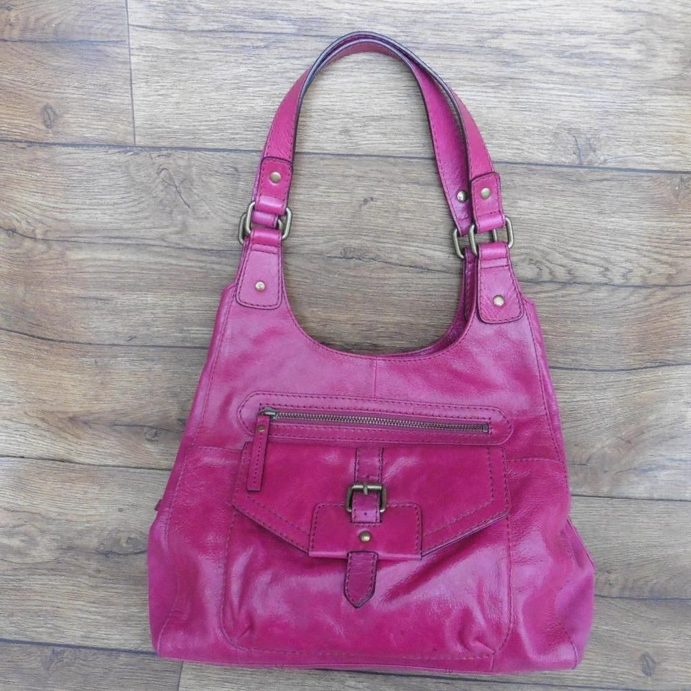 1be72889e44c Marks   spencer cerise leather hobo bag shoulder bag handbag hand bag  (coral)