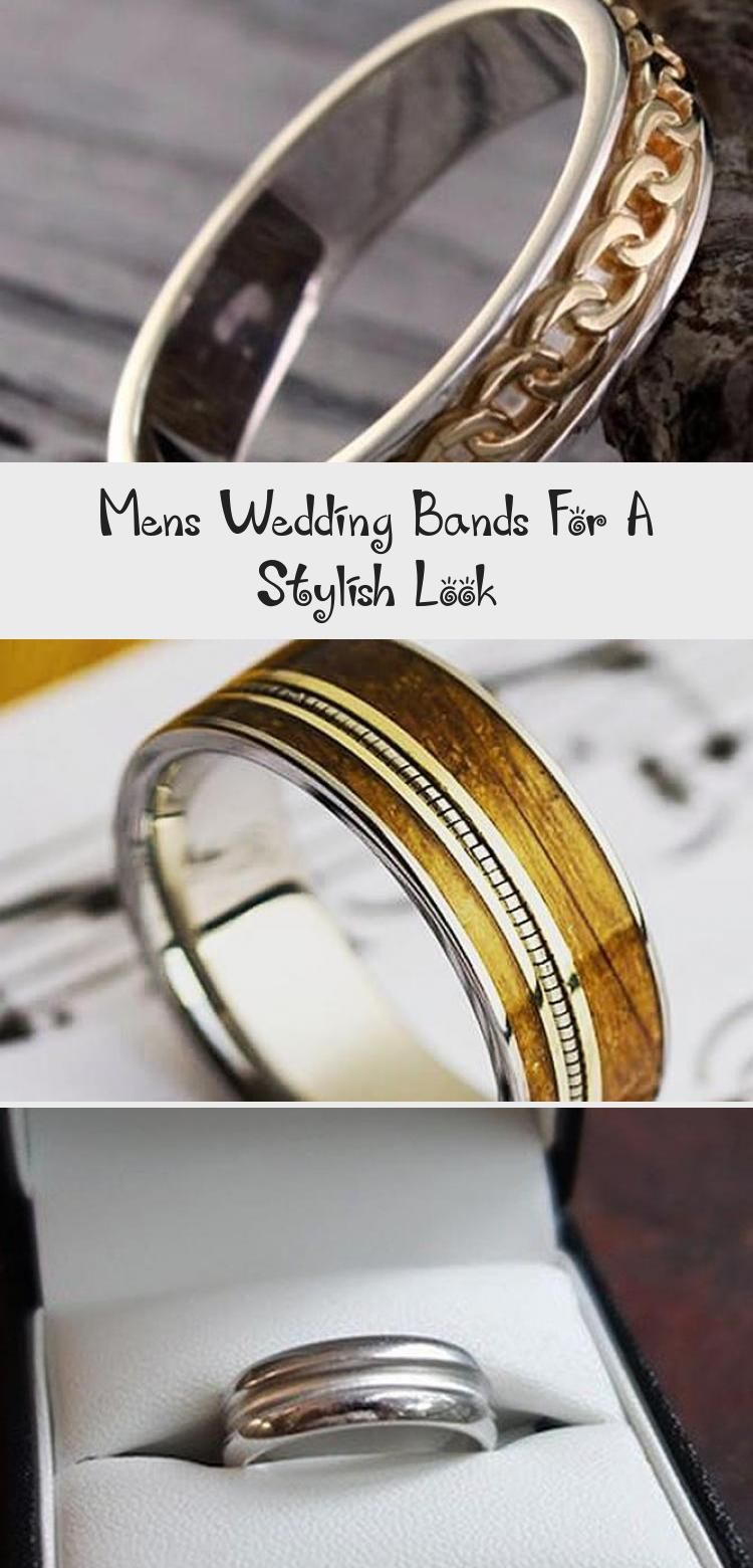 Mens Wedding Bands For A Stylish Look ★ engagementring