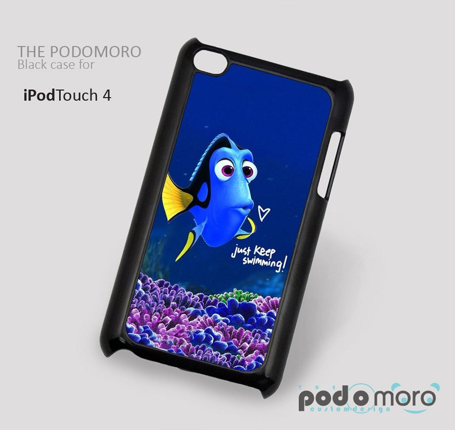 Finding Nemo Just Keep Swimming for iPhone 4/4S, iPhone 5/5S, iPhone 5c, iPhone 6, iPhone 6 Plus, iPod 4, iPod 5, Samsung Galaxy S3, Galaxy S4, Galaxy S5, Galaxy S6, Samsung Galaxy Note 3, Galaxy Note 4, Phone Case