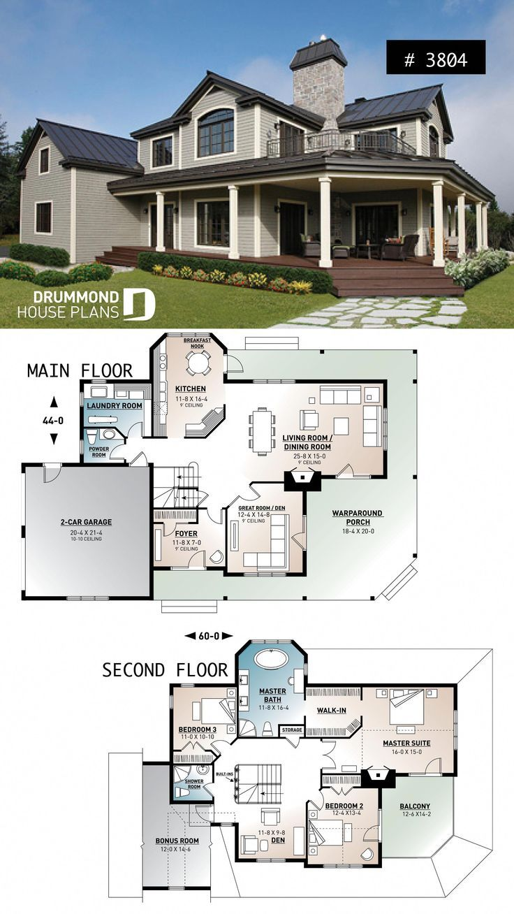 Discover The Plan 3804 Mt Meridian 1 Which Will Please You For Its 3 Bedrooms And For Its Country Styles In 2020 Cottage House Plans House Layout Plans Country House Plans