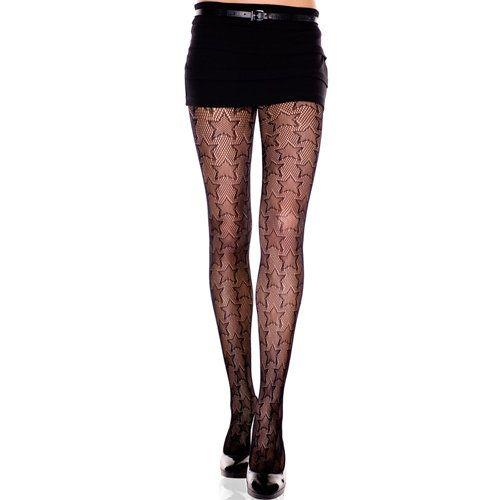 f173919bc Voel je vrouwelijk en aantrakkelijk: opvallende sterren netpanty  #pinlingerie #amazinglysexy