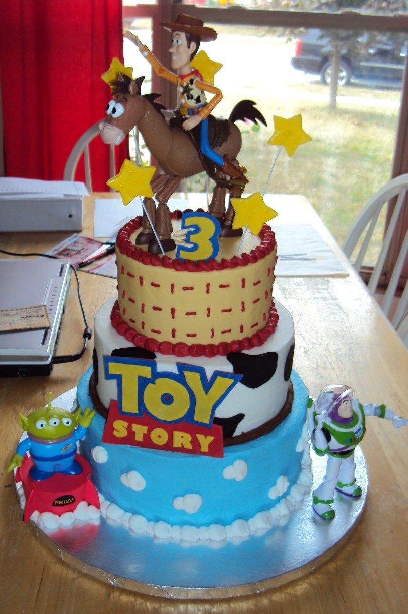 21 Brilliant Image Of Birthday Cake Themes Toy Story Cakes Decoration Ideas Little PictureOfBirthdayCake