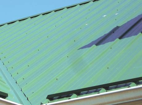 Installing A Steel Roof Backwoods Home Magazine Metal Roof Installation Roof Installation Metal Roofing Prices