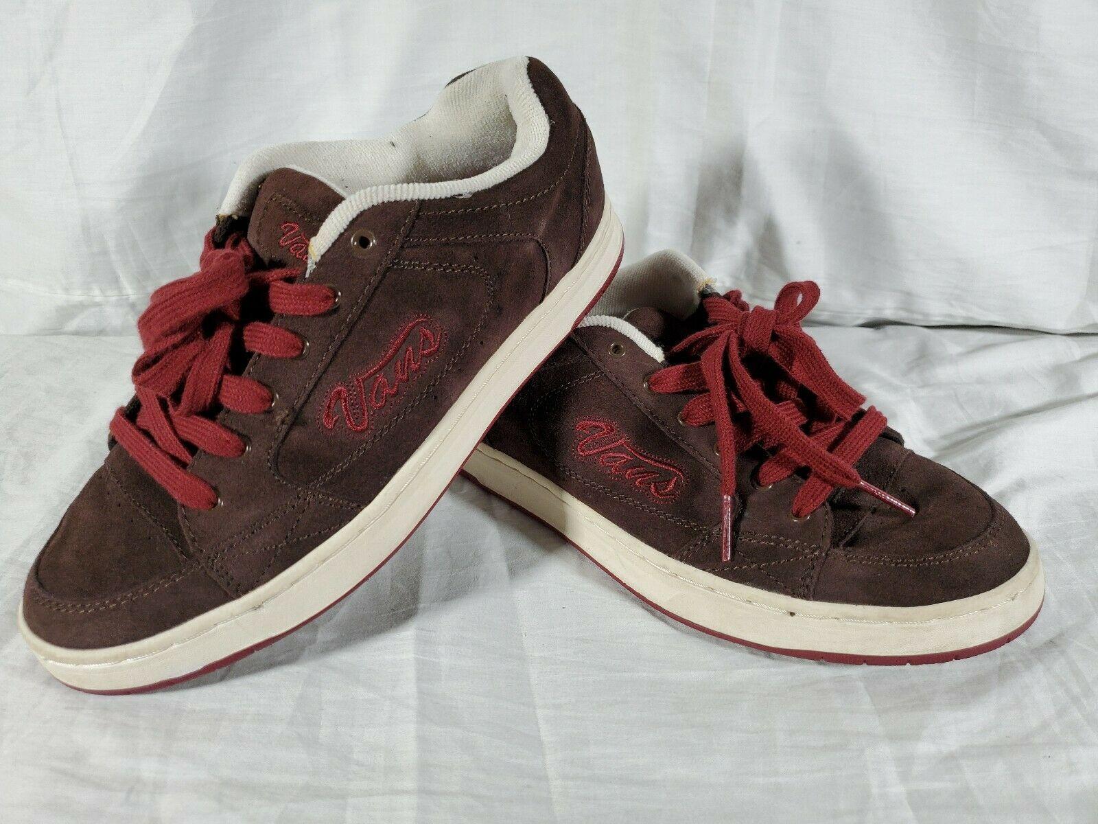 Vintage Vans Gwynn Brown Red Gwynn Skateboard Shoes Womens Size 10 55540 73 Ebay In 2020 Vintage Vans Vans Shoes For Sale Women Shoes