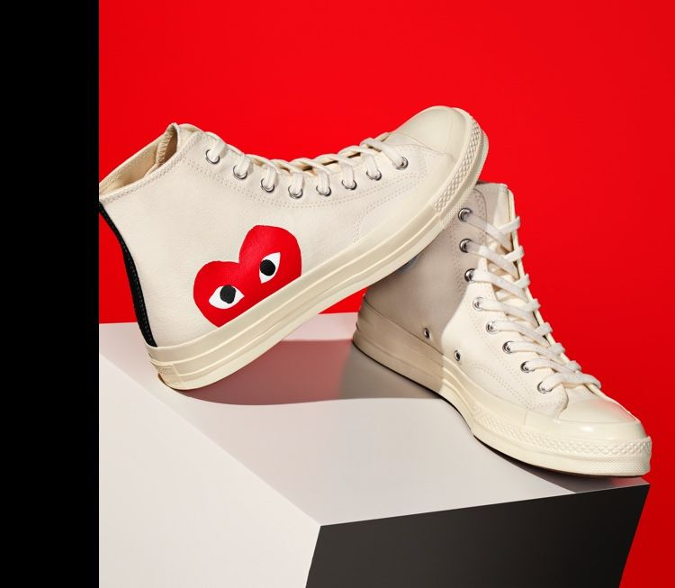 Converse x Comme des Garcons Chuck Taylor High Top in 2020