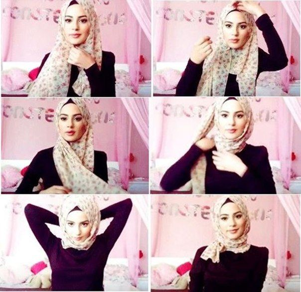 Turkish Hijab Style Step By Step Hijab Tutorials Pinterest Turkish Hijab Style Tutorials