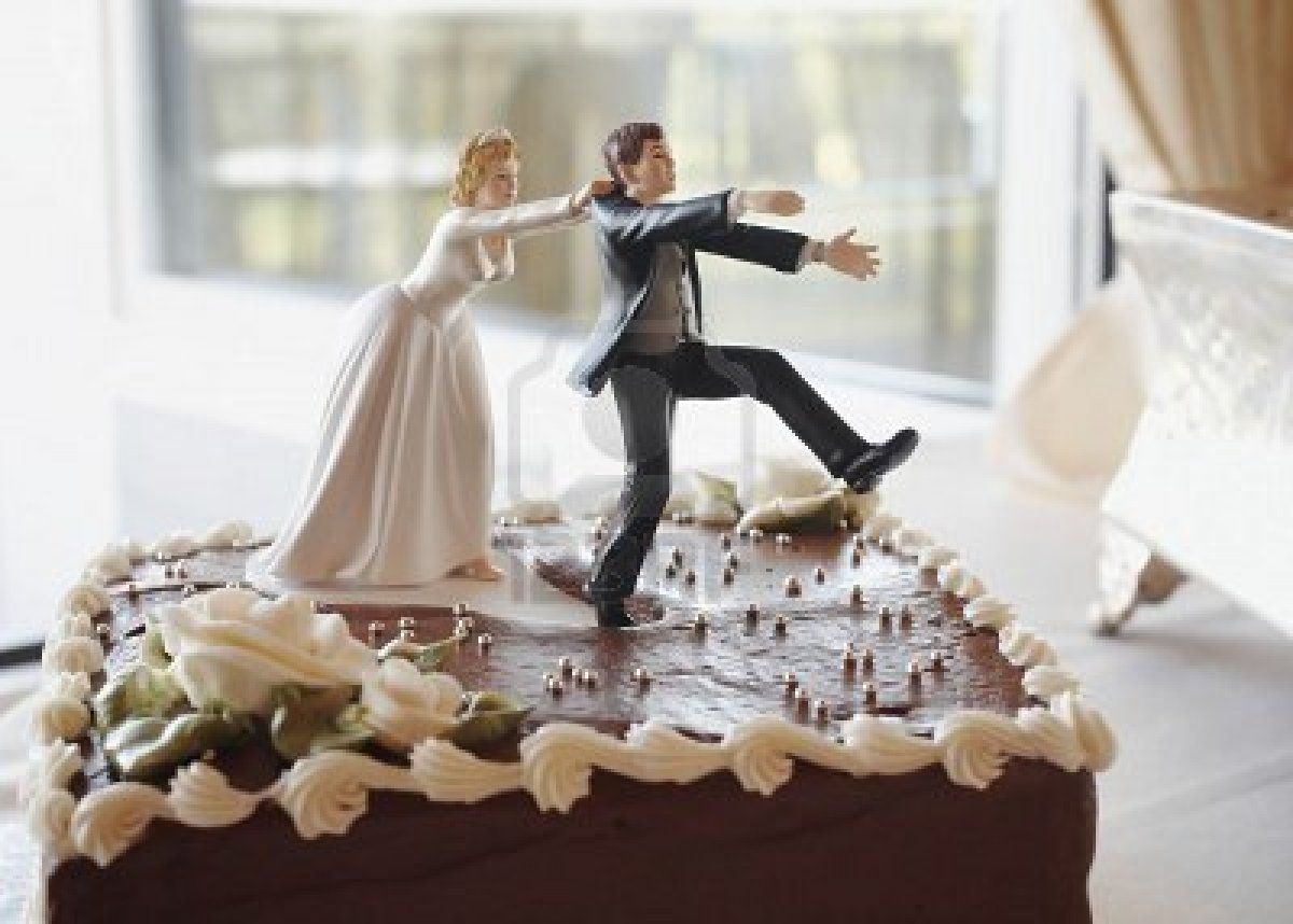 Comical Funny Wedding Cake Toppers Ideas