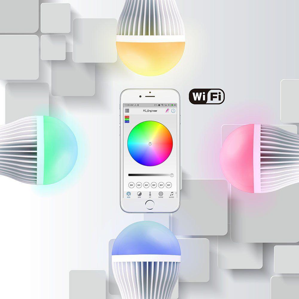 Smart Lâmpada de LED Wifi Lâmpada led, Led, Lampada