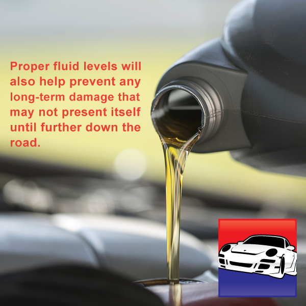 Before hitting the road: Check Your Lubricant and Fluid Levels Your fluids keep everything running smoothly, so having the proper levels will help keep your car moving like a well-oiled machine.  http://www.tdautomotive.com.au/