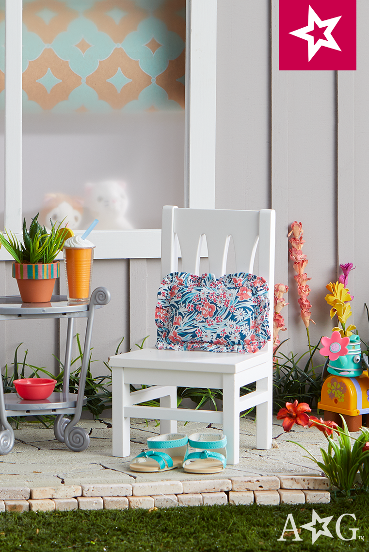 Pull up a chair and stay a while! #AGFairwayPlace | American Girl ...