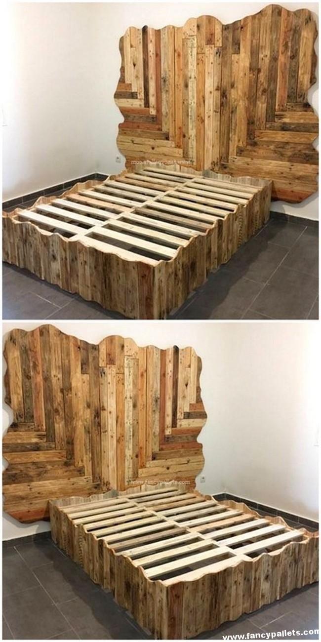 Diy Pallet Furniture Wood Beds