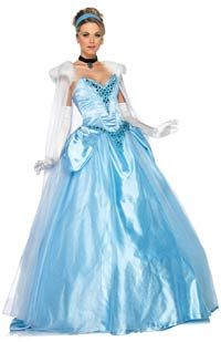 Deluxe Princess Cinderella Costume - Disney Costumes