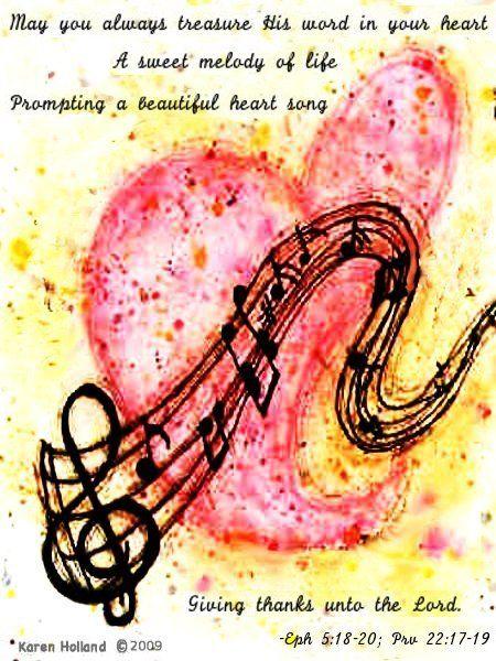 Heart Song | Scripture Art