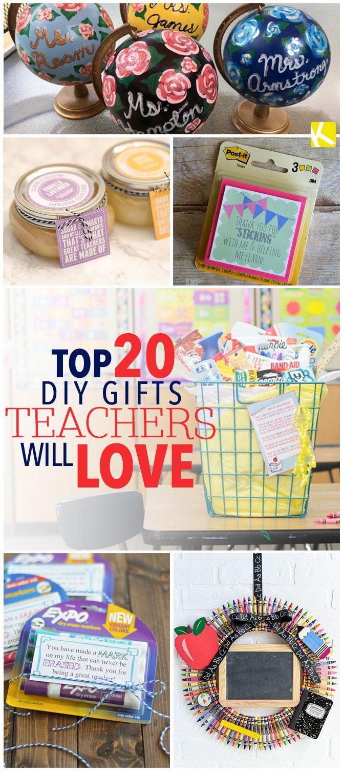 Top 20 DIY Geschenke Lehrer werden es lieben   – Kids