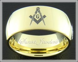 Hundreds of Masonic Rings & Freemason Emblems available.