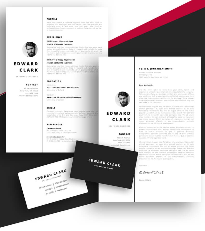 20 Best Free Pages & Ms Word Resume Templates For Mac
