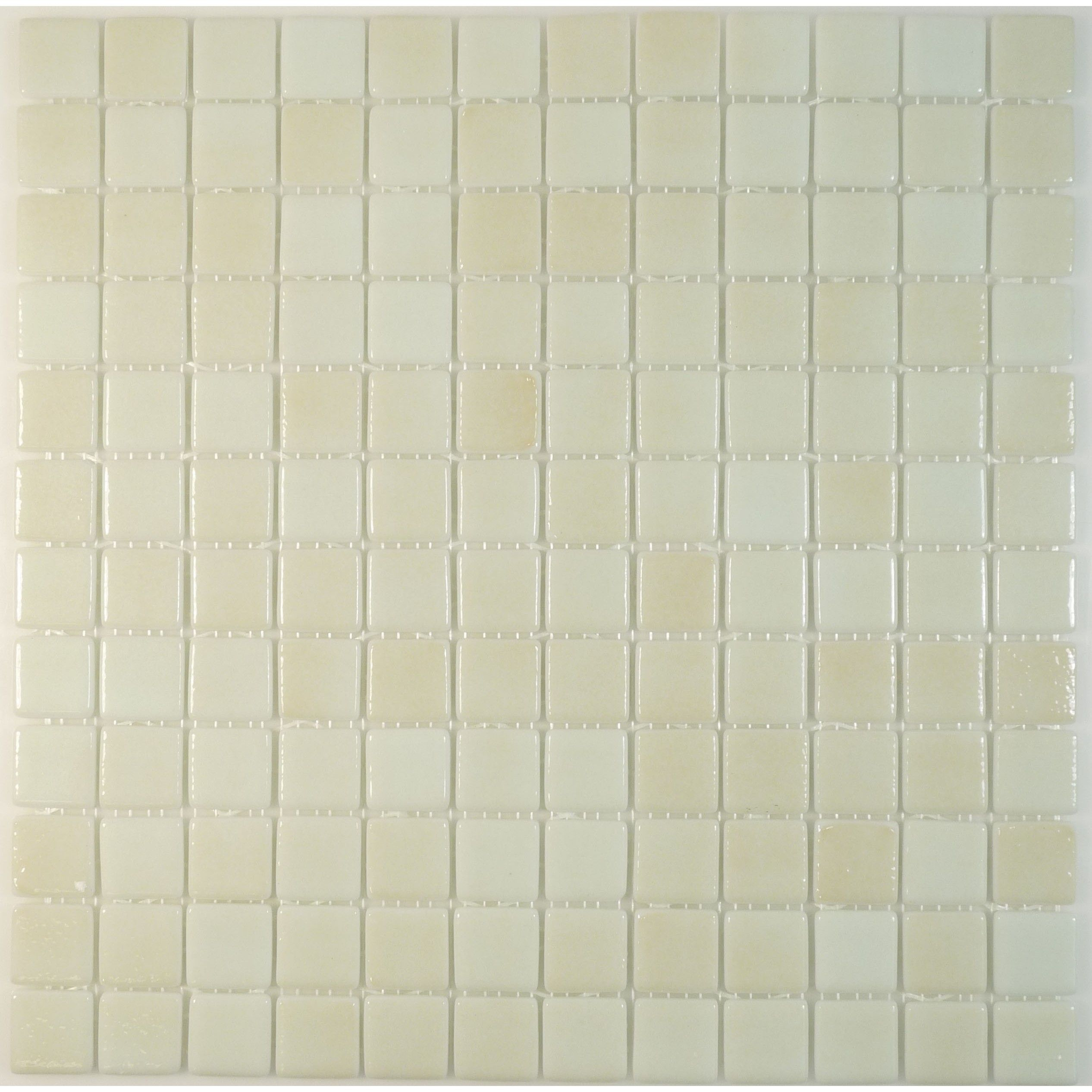 Sheet Size 12 1 4 X 12 1 4 Tile Size 1 X 1 Tiles Per Sheet 144 Tile Thickness 1 8 Grout Joints Tiles Square Tile Glass Tile