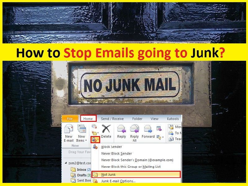How To Stop Emails Going To Junk In Outlook Gmail Gmail Email Junk